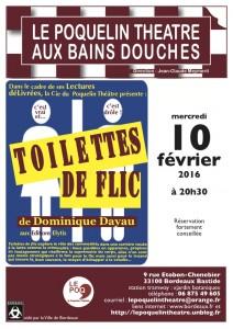 Flyer Toilettes de flic